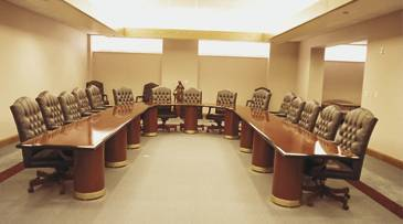 Hastings Conference Room - Horseshoe conference table